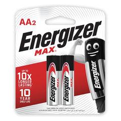 Батарейка щелочные*12 ENR MAX E91/AA 2шт