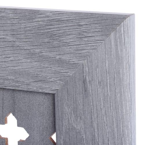 Экран для радиатора 120*60см Готико дуб серый