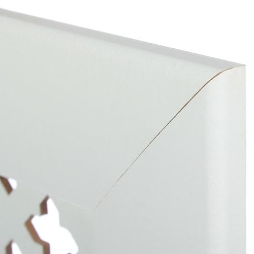 Экран для радиатора 120*60см Готико белый