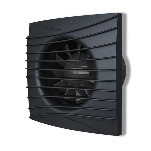 Вентилятор осевой вытяжной SILENT 4С Оbsidian
