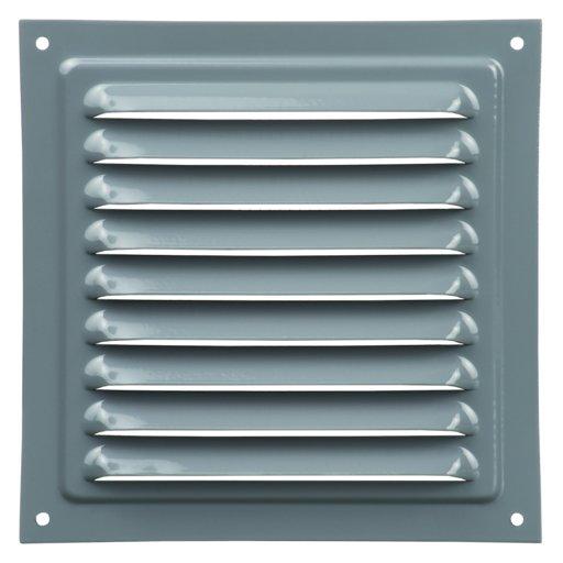 Решетка вент. 150х150 серый, метал