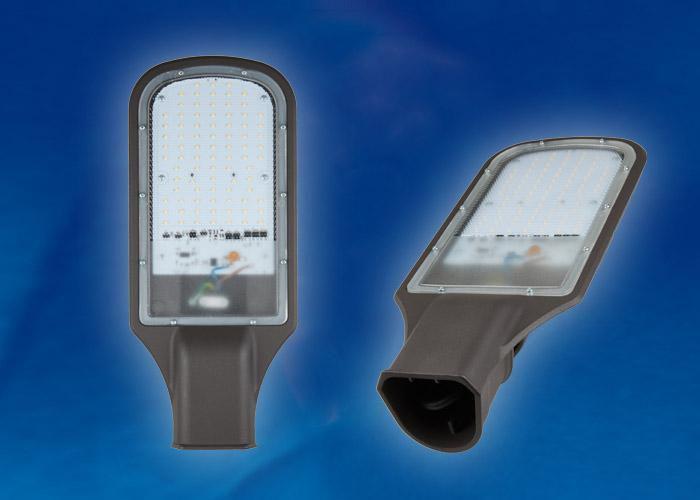 Прожектор светодиодный ULV-R22H-120W-DW IP65 GREY Дневной белый свет 6500K.