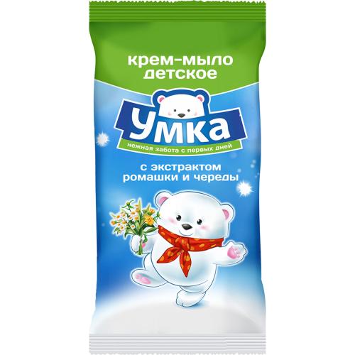 """Мыло детское""""Умка""""череда и ромашка 80г"""
