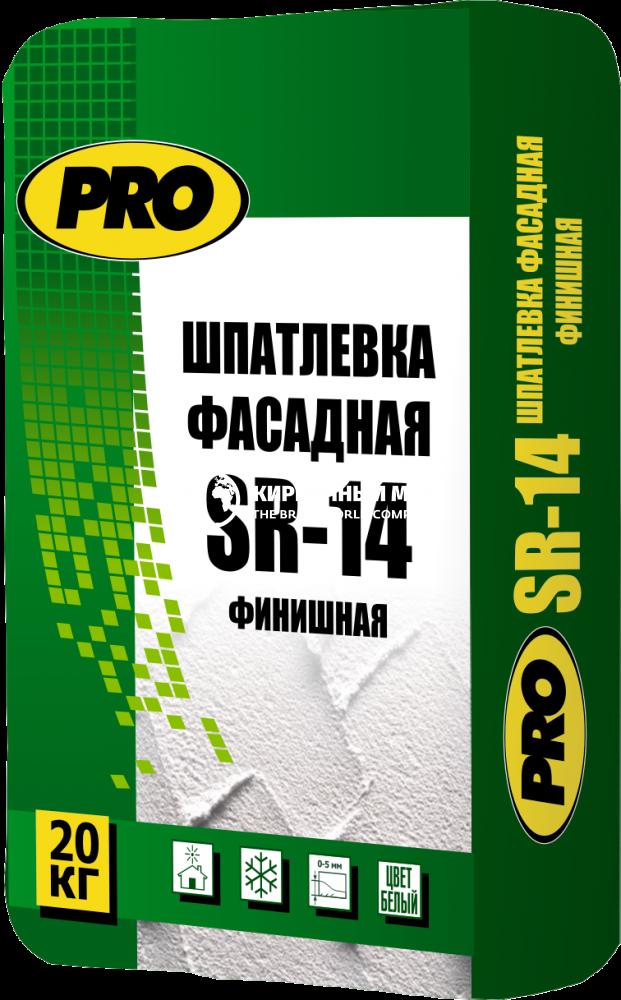 "Шпаклевка фасадная SR-14""PRO"" 20 кг"