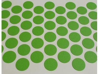 Заглушка-самоклейка зеленая трава d=14мм