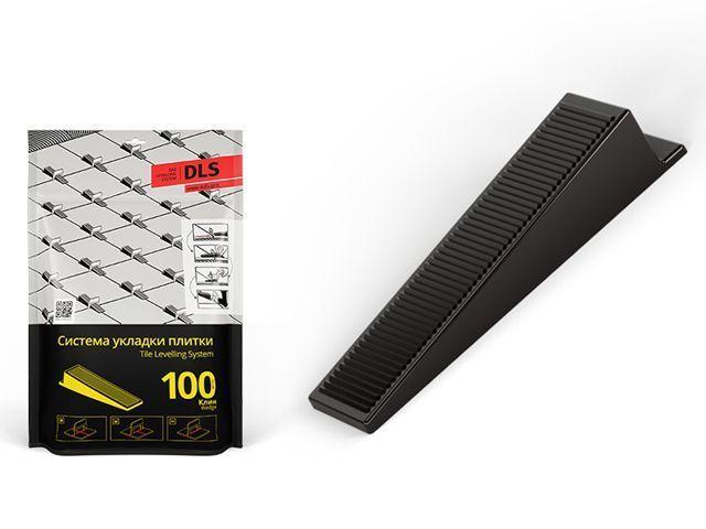 Система быстрой укладки плитки клинья  Стандарт  (100 штук )