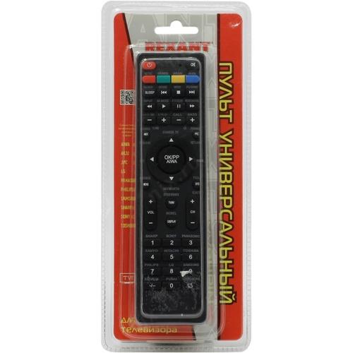 Пульт Рексант универсальный для телевизора RX-707Е,38-0310
