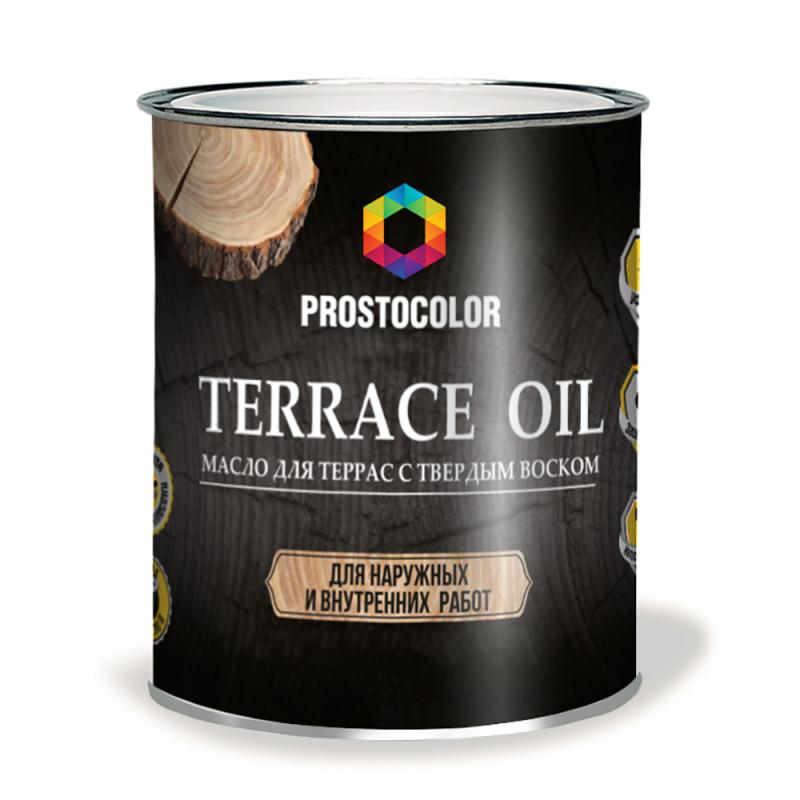 Масло для террас PROSTOCOLOR 2,2л Дуб