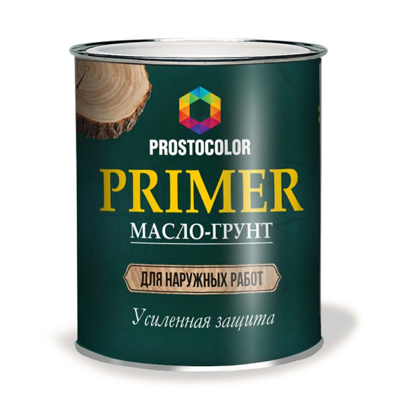 Масло-грунт для деревяных фасадов Простоколор 5л