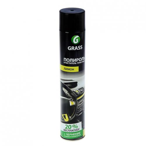 Полироль-очиститель для пластика Grass 0.75л