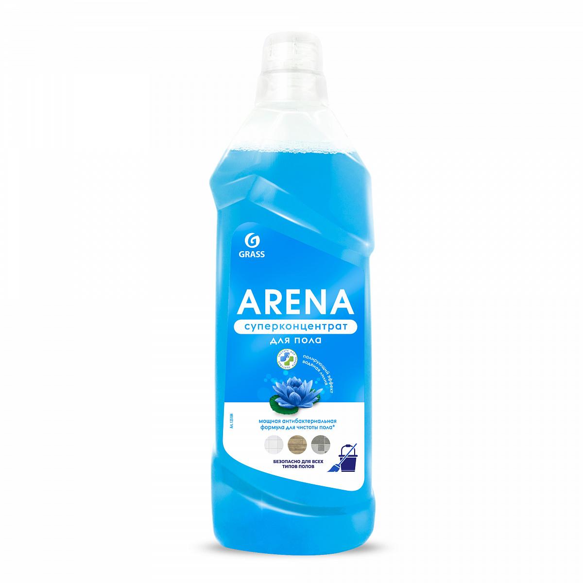 """Жидкость для пола""""GRASS"""" Arena (водяная лилия) 1 л"""