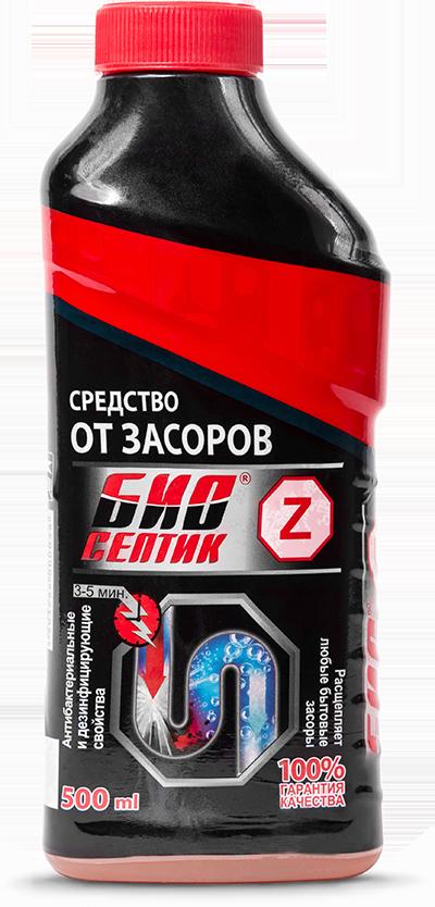 Средство от засоров БИО-СЕПТИК ----Z  500мл