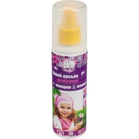 Спрей -лосьон детский от комаров и мошек Help 125мл 80522