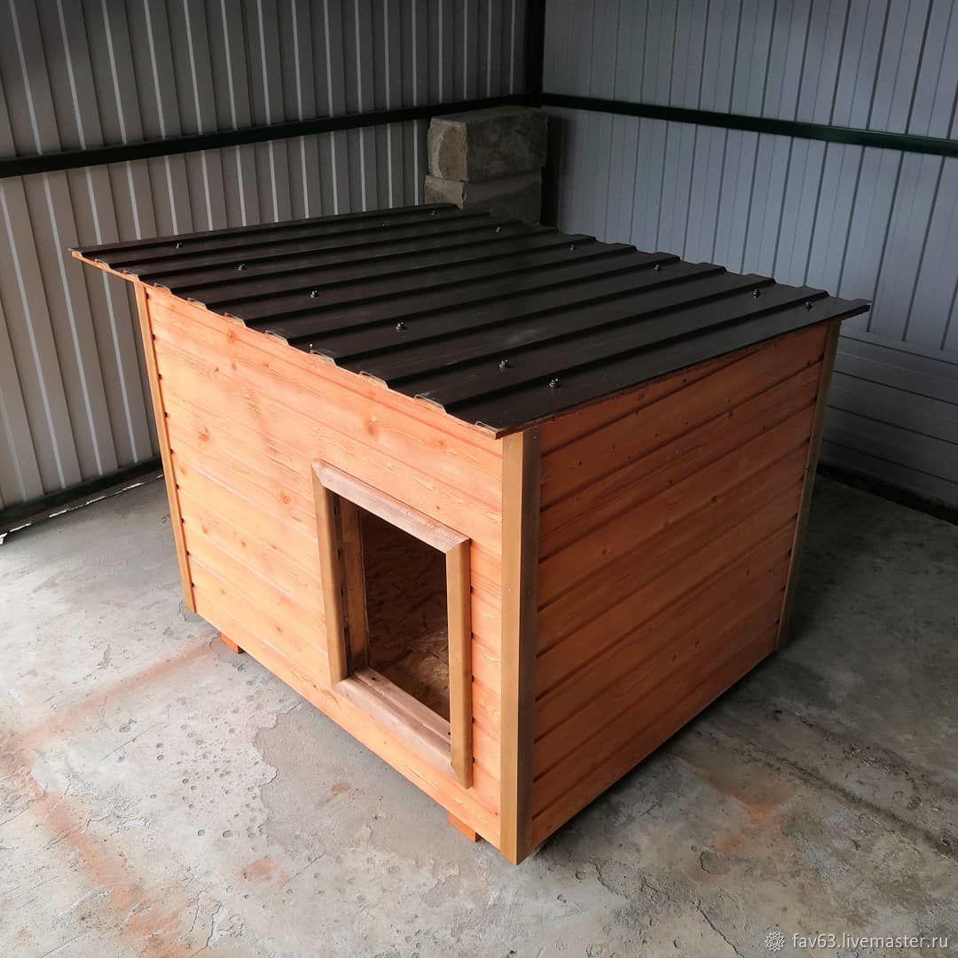 Будка для собаки  700 х 900 мм домик или односкатная крыша