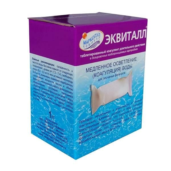 Маркопул Кемиклс/для коагуляции/Эквиталл/ таблетки в катридже 1 кг 95443