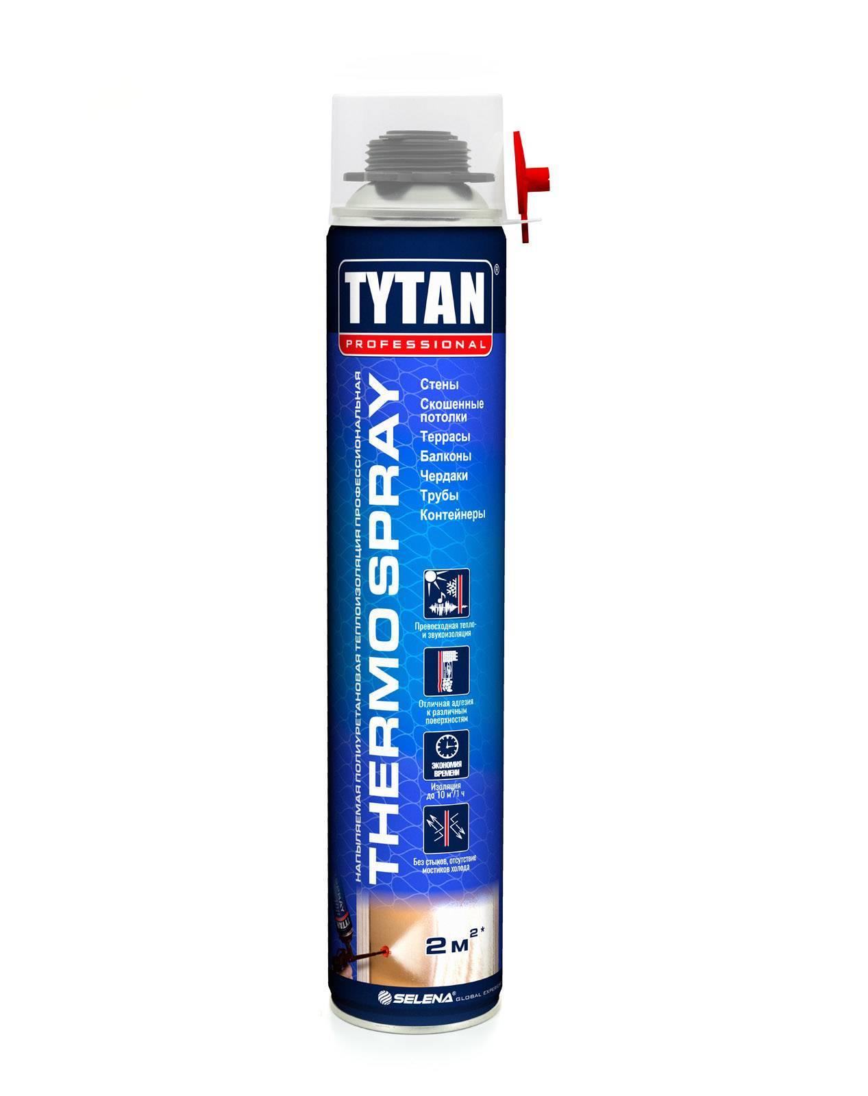 Напыляемая теплоизоляция ТИТАН Профи 870 мл