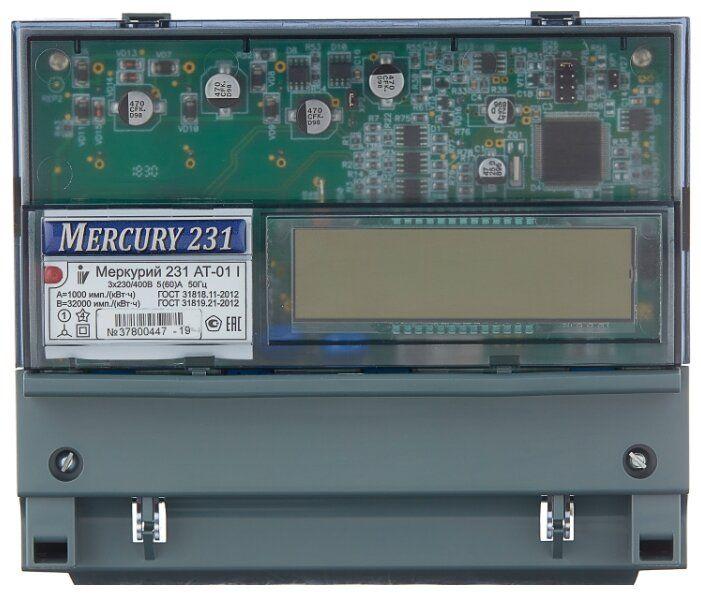 Счетчик Меркурий 231 АТ-01i многотарифн 5-60А
