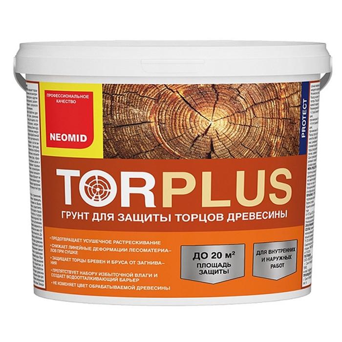 Грунт для торцов древесины NEOMID Tor plus 2,5л