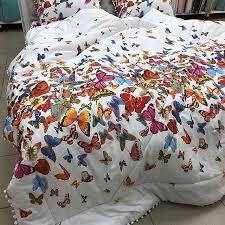 """Одеяло """"Бабочки""""с бубонами 200*230см"""