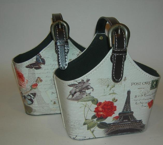 Французская корзинка сумочка декоративная для мелочей