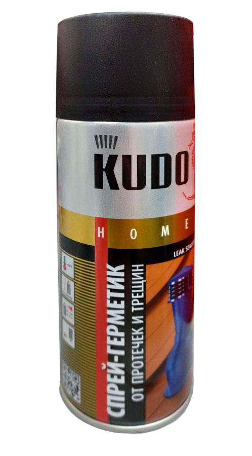 Герметик-спрей KUDO аэрозоль черный 520мл