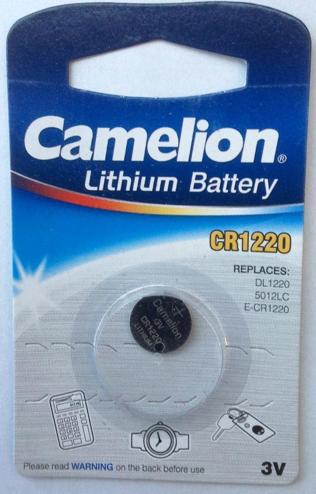 Батарейка литиевая, 3V,CR 1220 BL-1
