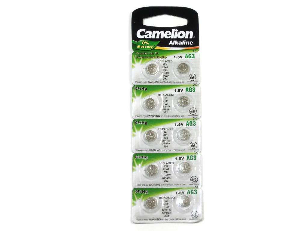 Батарейка G3 для часов Camelion