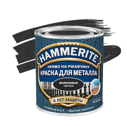 Хаммерайт краска 2,5 л черная молотковая