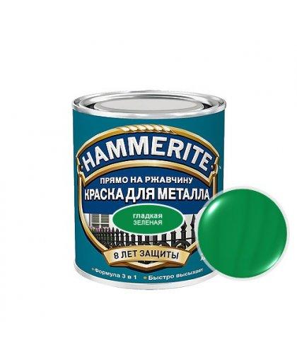 Хаммерайт краска 2,5 л зеленая гладкая