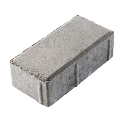 Плитка тротуарная 200х100х60 мм серая (РОССИЯ)