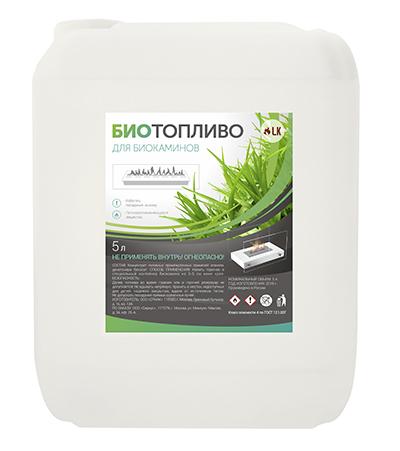 Биотопливо для каминов 4,6л