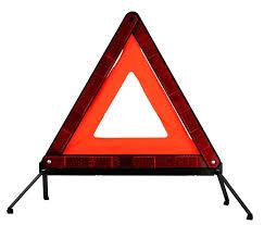 Знак аварийной остановки ЗУБР 95х460мм бордовый