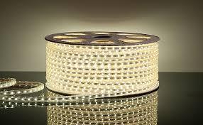 Шнур светодиодный белый (кратность резки 2 метра)