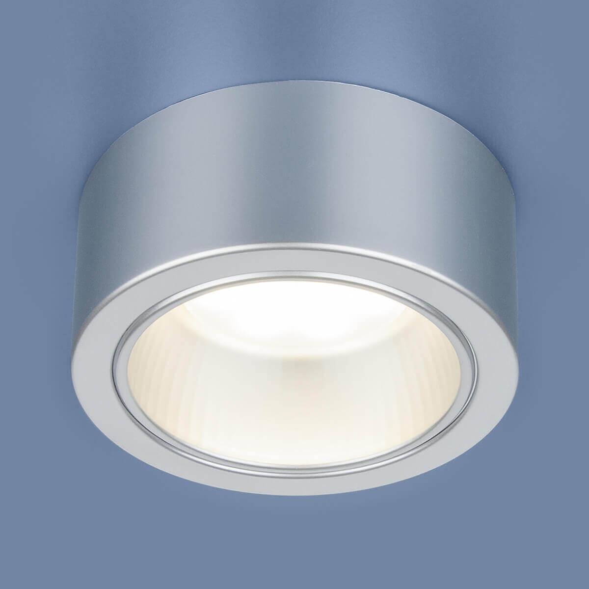 Светильник накладной 1070 GX53.SL серебро