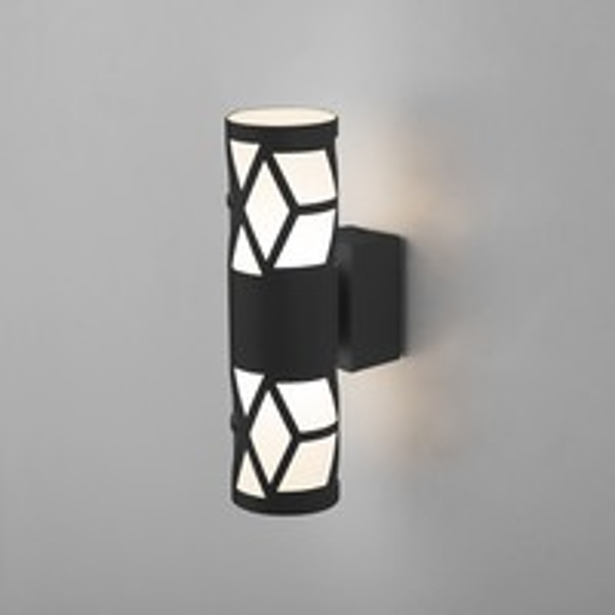 Светильник настенный светод-ый Fanc черный MRL LED 1023