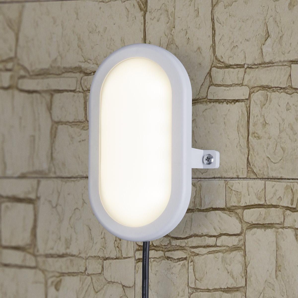 Светильник светодиодный LTB0102D 12W 4000K 22см 12W 4000К IP54