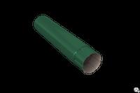 Труба водосточная ф100х2000 цветные (зеленая)