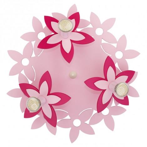 Светильник NOWODVERSKI-6895 Flowers Pink 3