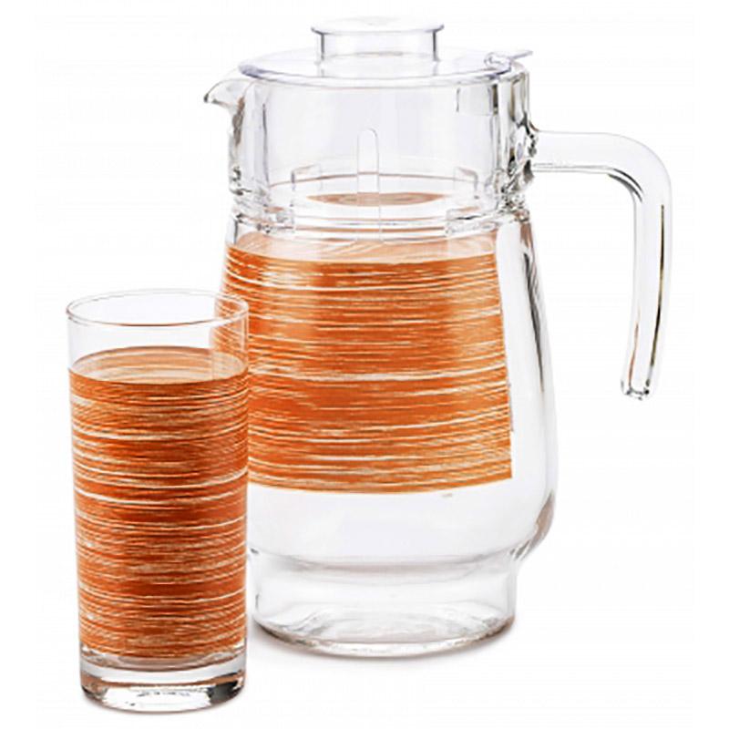 """Набор графин+стаканы""""Оранж2 Р7451"""