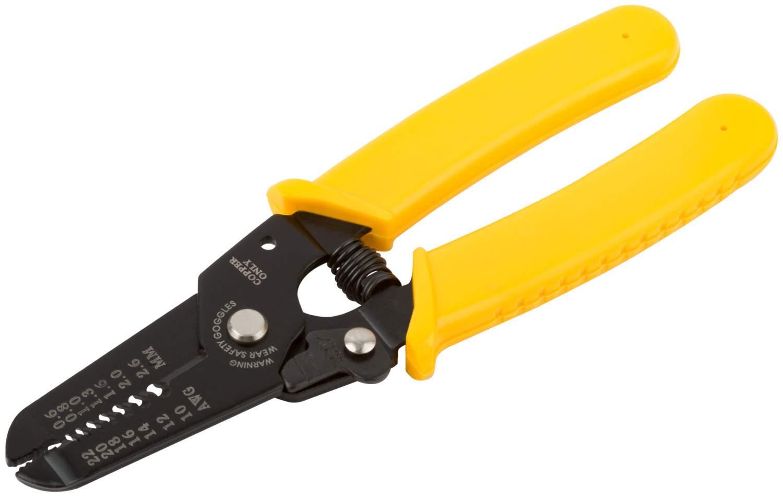 Электропассатижи FIT-60020 д.0.6-2.6мм, пластиковая ручка, 160мм