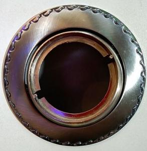 Светильник точ. Lezard MR16 LD-16025Т-0906 сатин/хром/хром