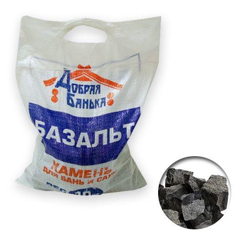 Камни для бани БАЗАЛЬТ 10 кг мешок