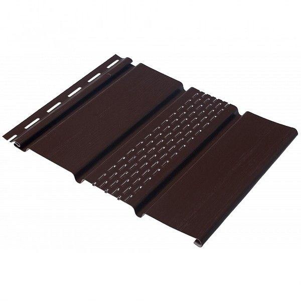 Сайдинг Docke Софит Solid T4 Шоколад 3,05м