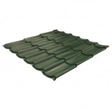 Металлочер. 2200х1180мм (зеленый)
