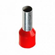 Наконечник 10 мм² (НШВи 10-12) красный REXANT.08-0831