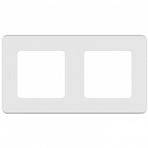 Рамка-2 поста-INSPIRIA-белый,673940