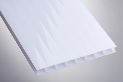 Поликарбонат 6мм белый (опал)