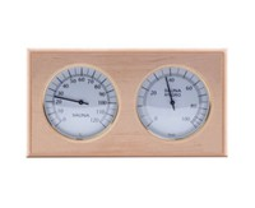 Термогигрометр квадрат ТН-21А (Ольха)