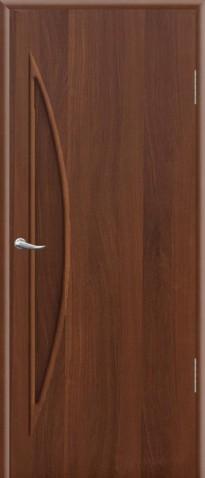 """Дверное полотно ламинированное ДПГ 0,8х2,0 итальянский орех """"Луна"""""""