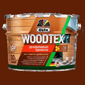 Пропитка Дюфа WOODTEX 10л бесцветный д/защиты древесины